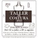 Cartel del taller de costura. Un proyecto de Diseño, Ilustración, Publicidad, Eventos y Diseño gráfico de Carlos Delgado López - 06.07.2021
