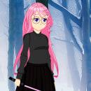 Personagem principal do meu jogo (em desenvolvimento). Um projeto de Ilustração, Design de personagens e Design de jogos de Pablo Maldonado - 07.07.2021
