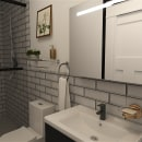 Duplex 240 Diseño original Nathalie5x6designs. Un progetto di Interior Design di Nathalie Suarez - 07.07.2021