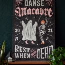 Danse Macabre. Un proyecto de H, lettering e Ilustración de Paola Vecco - 09.07.2021