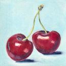 Frutas. Um projeto de Artes plásticas, Pintura e Pintura a óleo de Delmy Alvarenga - 17.06.2021