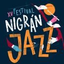 Nigrán Jazz. A Design, Illustration, Lettering, and Poster Design project by David Sierra Martínez - 07.09.2021