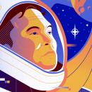 Sobre Elon Musk. A Illustration, Vector Illustration, Portrait illustration, and Editorial Illustration project by Salmorejo Studio - 07.13.2021