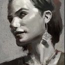 Estudio . Um projeto de Pintura digital e Ilustração de Rodrigo Rivas (Ruiveran) - 13.07.2021
