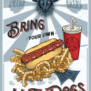 Reflecting Your Style with Illustrator course: Bring Your Own Hot Dogs. A Illustration, Vector Illustration, and Digital illustration project by Alishia - 07.14.2021