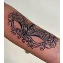 Mi Proyecto del curso: Tatuaje para principiantes. A Tattoo Design project by Natalia Heller - 07.13.2021