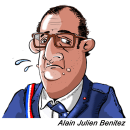 Mon projet du cours : Portrait caricatural au crayon graphite. A Illustration, Zeichnung, Porträtillustration und Porträtzeichnung project by ALAIN JULIEN BENITEZ - 16.07.2021