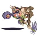 King Kong Karts. Un proyecto de Ilustración, Ilustración digital y Diseño de personajes de camilo baquero - 09.03.1997