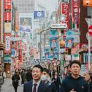 A Shibuya Walk. A Fotografie, Außenfotografie, Fotografische Komposition, Lifest und le-Fotografie project by Airam Vargas - 24.10.2019