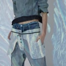 Denim Collection Santista Jeanswear - Autumn/Winter. Um projeto de Moda de Julieta Mercerat - 18.07.2021