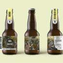 MONTANO BREWING.CO. Um projeto de Ilustração, Br, ing e Identidade e Packaging de Juan Camilo Castillo Perea - 18.07.2021