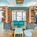 Multipurpose and flexible coworking space for Red.es. Um projeto de Arquitetura, Arquitetura de interiores, Design de interiores e Decoração de interiores de Izaskun Chinchilla Moreno - 19.07.2021