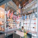 Utopicus Conde de Casal. Coworking space for Utopicus in Madrid. Um projeto de Arquitetura, Arquitetura de interiores, Design de interiores e Decoração de interiores de Izaskun Chinchilla Moreno - 19.07.2021