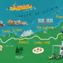 Condé Nast Traveler 2021. Um projeto de Ilustração, Publicidade, Ilustração digital, Desenho digital e Ilustração editorial de Félix Díaz de Escauriaza - 25.05.2021