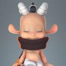 Mi Proyecto del curso:  Modelado profesional de personajes cartoon 3D. Um projeto de 3D, Design de personagens, Animação de personagens, Modelagem 3D, Design de personagens 3D e 3D Design de Adrián Pastorizzo - 23.07.2021