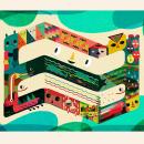 canal Encuentro y Paka Paka Argentina. Um projeto de Ilustração e Ilustração vetorial de Natalia Colombo - 26.07.2021