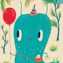 El cumpleaños de Babita. Um projeto de Ilustração e Ilustração infantil de Natalia Colombo - 26.07.2021