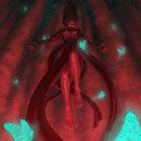 The Red Cavern. Um projeto de Ilustração de Alba Scudo - 26.07.2021