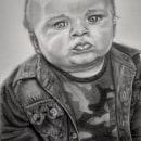Retratos em grafite. Um projeto de Desenho a lápis e Desenho de Retrato de Ingrid Napolitano - 28.07.2021