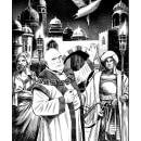 """Lone Wolf - Kai Grand Master Series."" ""Dawn of the Dragons"" Internal illustrations. Un proyecto de Ilustración de Valentina Bianconi - 28.07.2021"