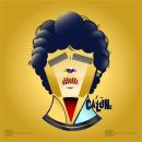 ilustracion vectorial geometrica - Homenaje Maradona. Um projeto de Ilustração, Ilustração vetorial, Desenho, Ilustração digital, Ilustração de retrato e Desenho de Retrato de Ezequiel Calone - 28.07.2021