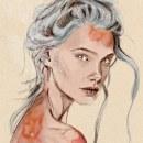 Mi Proyecto del curso: Retrato ilustrado con Procreate. Un proyecto de Ilustración, Ilustración vectorial, Ilustración digital, Ilustración de retrato y Dibujo de Retrato de María Líbano - 28.07.2021