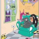Te comería hasta los miedos. A Illustration project by Veneno - 07.29.2021