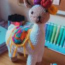 Lhama amigurumi. Un proyecto de Crochet de Luiza - 01.08.2021