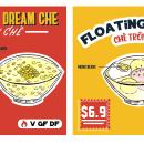 CHE - Vietnamese Dessert restaurant in Australia. Un proyecto de Ilustración, Br e ing e Identidad de Trang Trần - 02.08.2021