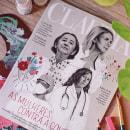 Capa • Revista CLAUDIA. A Design, Editorial Design, and Portrait illustration project by Débora Islas - 08.03.2021