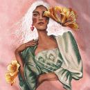 Mangas de Ipê Amarelo. A Illustration, Portrait illustration, and Botanical illustration project by Débora Islas - 08.03.2021