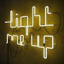 Light me up. Um projeto de Design, Publicidade, 3D, Direção de arte, Design gráfico, Arte urbana, Lettering e Modelagem 3D de Jose Padrino Gomez - 03.04.2021