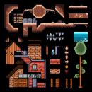 "Luis M. Rodriguez Sousa ""Creación de escenarios pixel art para videojuegos"". Um projeto de Design de jogos, Animação 2D, Animação 3D, Videogames, Pixel Art, Design de videogames e Desenvolvimento de videogames de Luis Miguel Rodriguez Sousa - 09.08.2021"