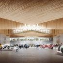 Feria de Estrasburgo para NIETO SOBEJANO. Um projeto de Ilustração, 3D, Arquitetura e Matte Painting de Fran Mateos - 10.08.2021