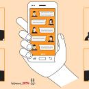Conversa Móvil. Um projeto de Ilustração, Motion Graphics, Animação, Design de personagens, Gestão de design, Design gráfico, Design interativo, Marketing, Ilustração vetorial, Criatividade, Ilustração digital, Instagram e Comunicación de Joan Sala - 20.08.2021
