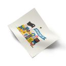 Primera línea [riso]. Un proyecto de Ilustración, Dirección de arte y Diseño editorial de Jorge De la Paz - 17.10.2019