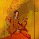 Kitsune. The japanese myth about women and foxes.. Um projeto de Ilustração, Artes plásticas e Ilustração digital de Gianluca Manna - 21.08.2021