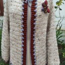 Mi Proyecto del curso:  Top-down: prendas a crochet de una sola pieza. Un proyecto de Moda, Diseño de moda, Tejido, DIY y Crochet de miwitxe - 22.08.2021