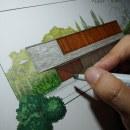 Meu projeto do curso: Ilustração arquitetônica: humanize o desenho de um espaço. Um projeto de Design, Arquitetura, Paisagismo e Ilustração Arquitetônica de Marcelo Marttins - 25.08.2021