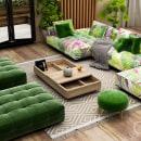 Feeling green . Um projeto de Design de interiores e Interiores de gosik08 - 16.05.2021