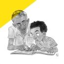 Dad. Um projeto de Ilustração e Design de personagens de Di Cardoso - 29.08.2021