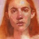 Mi Proyecto del curso: Retrato expresivo al óleo: explora la técnica alla prima. Un proyecto de Bellas Artes, Pintura, Ilustración de retrato y Pintura al óleo de Vrigit Smith - 29.09.2021
