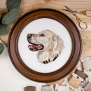 Embroidered pets. A Stickerei project by Michelle Staub - 30.08.2021
