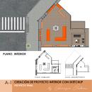 Creación de proyectos de interiorismo con SketchUp. TIENDA XIAOMI . Um projeto de Design, Arquitetura de interiores, Design de interiores, Modelagem 3D, 3D Design e Interiores de Genesis Cadena - 05.05.2021