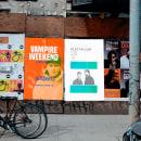 Carteles . Un proyecto de Diseño, Ilustración, Publicidad, Música, Audio, Fotografía, Dirección de arte, Diseño gráfico y Diseño de carteles de Ricky Arvizu - 02.09.2021