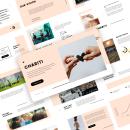 Chariti - Charity Presentation Template. Un proyecto de Diseño de Mirza Ramadhany - 06.09.2021