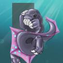 Prehistoric Creatures from another planet, . Un progetto di Illustrazione, Character Design, Progettazione di giochi, Bozzetti , e Disegno digitale di Ryan G - 06.09.2021