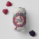 Kombucha. Blow up Berry. Un progetto di Design, Graphic Design, Packaging , e Design di loghi di Bee Comunicación - 07.09.2021