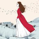 Cumbres borrascosas. Um projeto de Ilustração, Ilustração editorial e Pintura guache de Julia Bereciartu - 07.09.2021