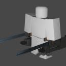 Equipo de Maniobras Tridimensionales (SNK). A 3D, Game Design, and 3d modeling project by Sofía Suárez - 12.06.2020